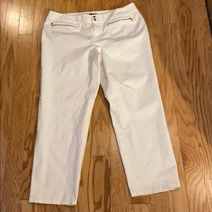 Lauren Ralph Lauren white pants size 18W